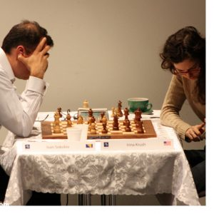 people playing chess